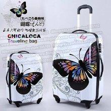 """20 """" pouces étonnant ventes chaudes japon papillon ABS valise trolley bagages / Pull Rod trunk / voyageur boîte de cas avec roues multidirectionnelles(China (Mainland))"""