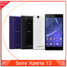 "Original Sony Xperia T2 Ultra Unlocked Phone 6.0"" Touch Screen Quad Core 1GB RAM 8GB ROM 13MP Camera WIFI GPS NFC 3G WCDMA(China (Mainland))"