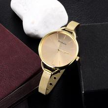 Christmas Gift ! Women Men Big Dial Quartz Wristwatch Silver Stainless Steel Watch Clock Free Shipping