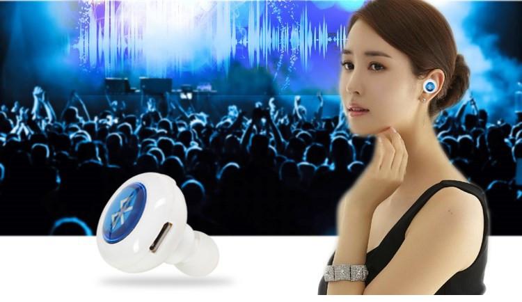 Mini Bluetooth гарнитура фото