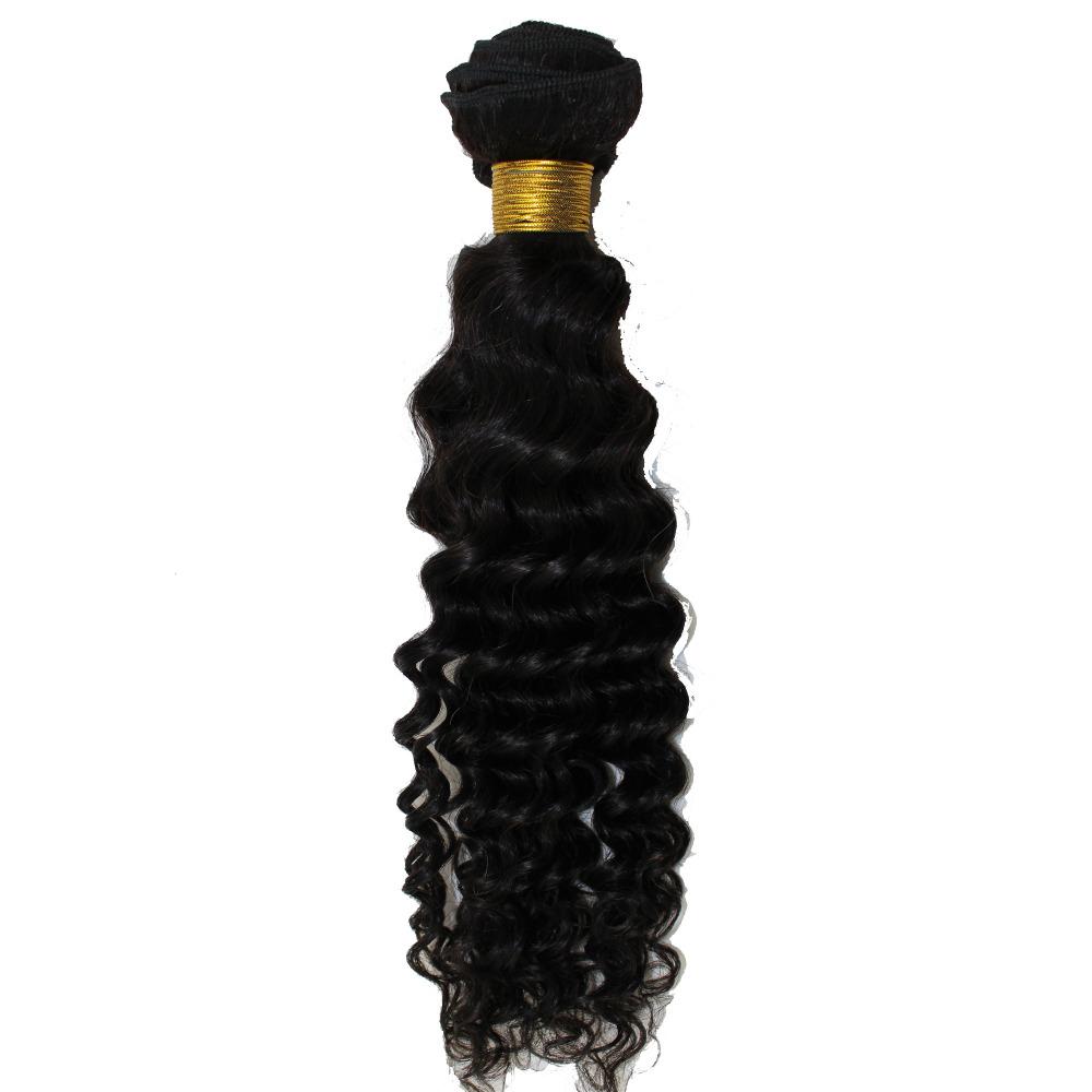 8A Brazilian Virgin Hair Deep Wave 1 Bundles Brazilian Hair Weave Bundles Human Hair Brazilian Deep Wave Aliexpress Hair