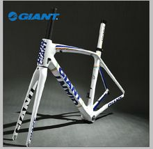 2014 GIANT Original  TCR Composite Carbon Frame Set 700C Road Bike Frame Size S 465mm  Blue White/Black Red/Black White(China (Mainland))