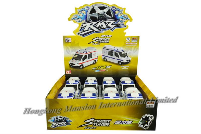 132 Police Ambulance Car Model For Benz Sprinter (13)
