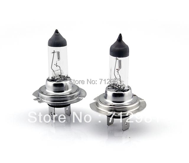 2015 New H7 Xenon halogen lighs 12V 55W Halogen bulb  2 Pcs white tube