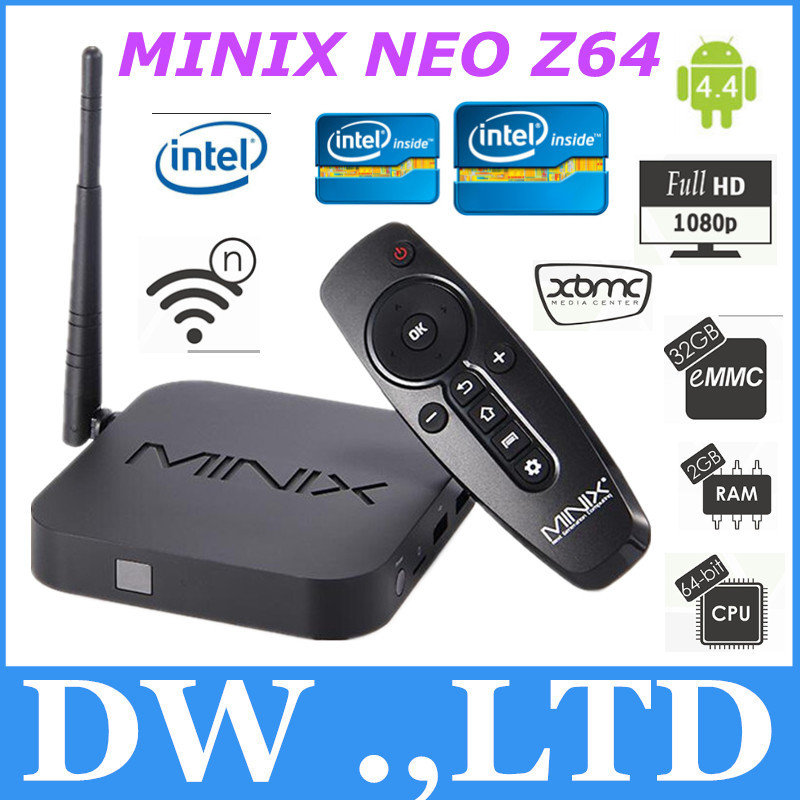 Z64 A MINIX NEO Z64 Android 4.4 Quad-Core 2G32G Bluetooth 4.0 Wifi HDMI support Facebook/Youtube/Skype smart MINI PC(China (Mainland))