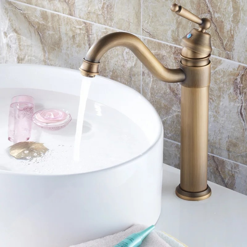 Buy Becola Bathroom Faucets Chromed Antique Bronze Colour Antique Tap Single