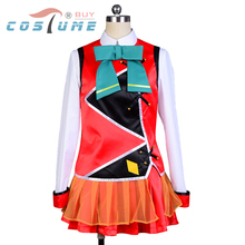 Buy LoveLive! Love Live SR Cards Kotori Minami Stage Uniform Shirt Skirt Anime Halloween Cosplay Costumes Women Custom Made for $59.00 in AliExpress store