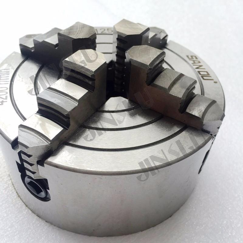 Купить 4 Челюсти Независимых Токарный Патрон K72-100 4 ''Дюймовый