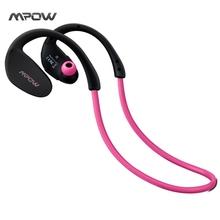 Mpow MBH6 Cheetah 4.1 Bluetooth Headset Headphones Wireless Headphone Microphone AptX Sport Earphone for iPhone Android Phone(China (Mainland))