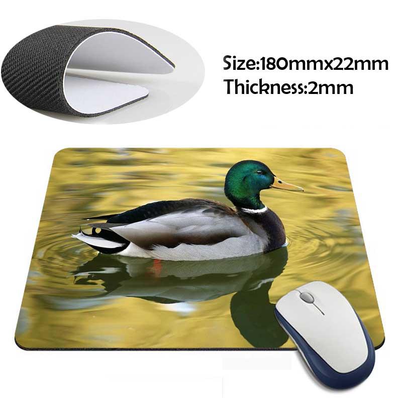 mallard duck swimming on the lake Gaming Personalized Durable Mouse Pad Mat Comfort Mice Pads(China (Mainland))