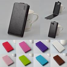 Funda PU Leather Case Cover For Lenovo Golden Warrior A8 A806 A808T Phone Case Original Vertical Flip Back Cover Protector Shell