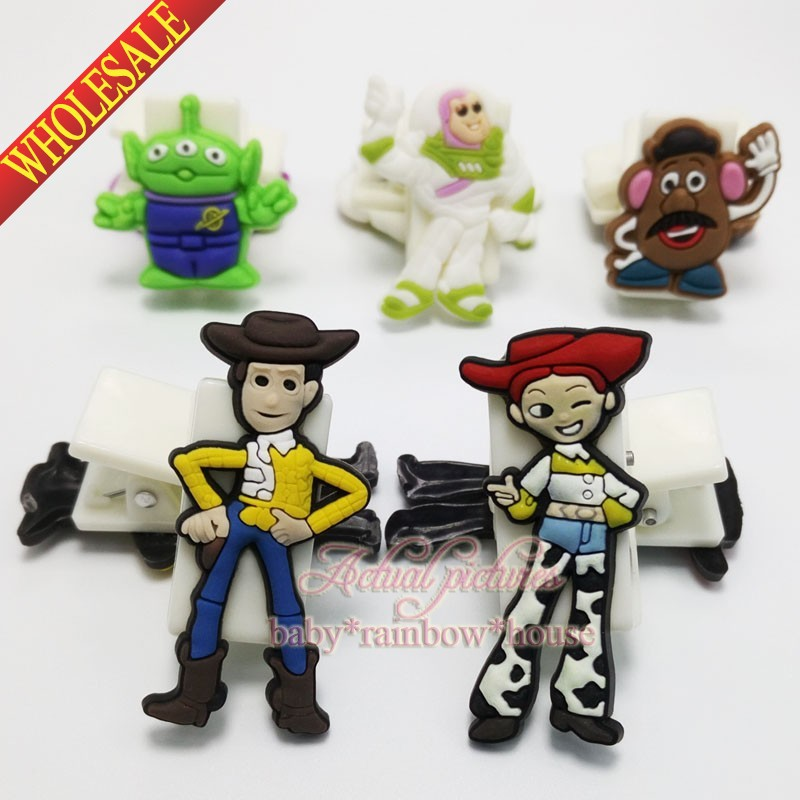 Toy Story Boys love 4pcs/set bookmarks paper clips office binding supplies school suppies kid party favors hot selling(China (Mainland))