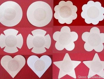 200pairs design mix Beauty Bra Thin Brassiere  Breast Nipple Tape Cover