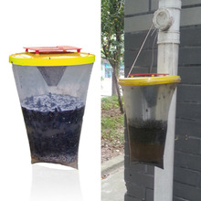 Helpful and useful Environmental Flies be Gone Non Toxic Fly Trap Fles Away For Camping(China (Mainland))