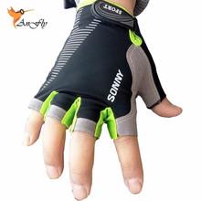 2016 High Quality Sport Gloves Semi-finger Gym Gloves Half Fingerless Mittens Men Women Workout Fitness Guantes Eldiven G-084(China (Mainland))