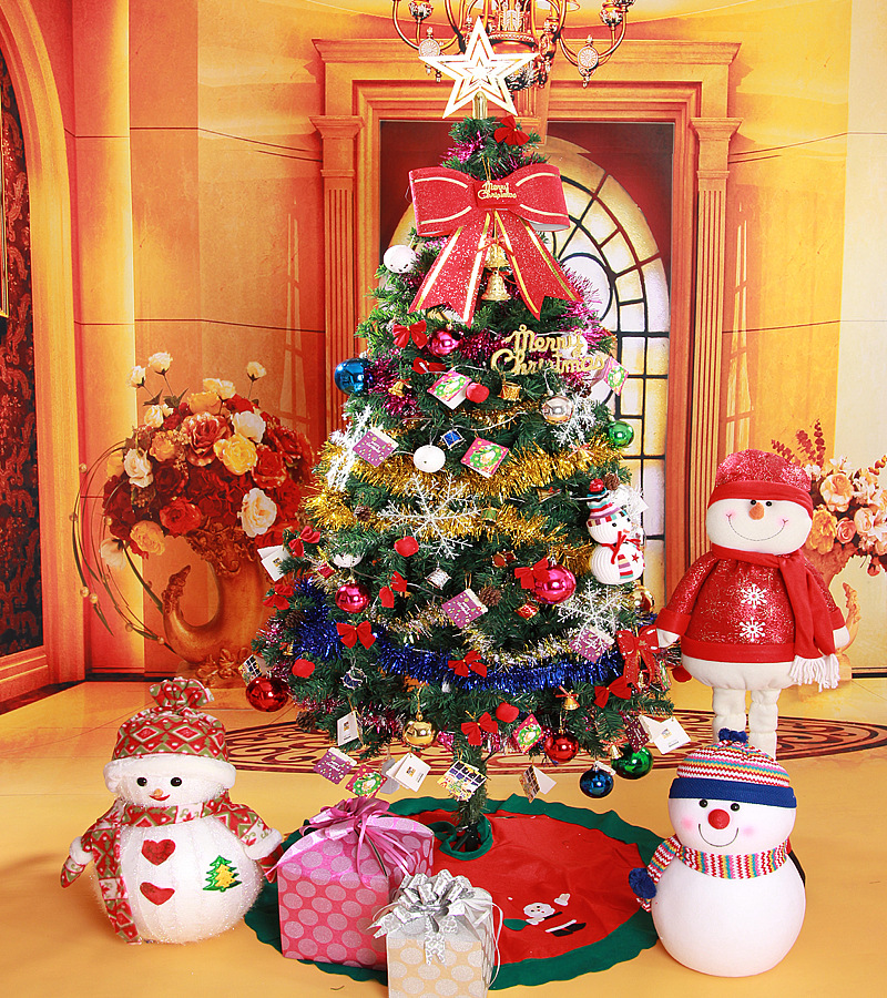 Christmas tree 180cm thick solid green medium trees for Christmas decoration suppliers
