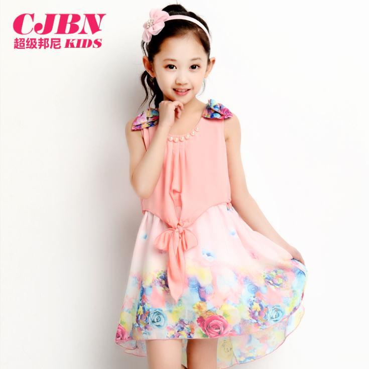 2014 New summer children clothes girls dress kids summer princess dress child dress(China (Mainland))