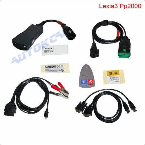 Citroen Peugeot lexia3 pp2000 lexia 3,lexia-3 With New Diagbox V7.56 Diagnostic Tool DHL Free(China (Mainland))