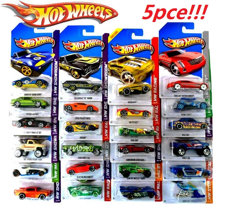 5 pcs metal car mode antique collectible toy cars for sale hotwheels collection hot wheels miniatures scale cars models 1:64(China (Mainland))