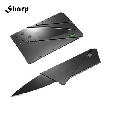 Card Knife Folding Knife Credit Card Tool Mini Wallet Camping Outdoor Pocket Tools Tactical Knife(China (Mainland))