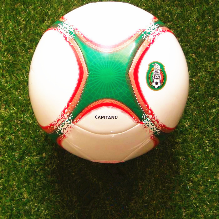 100% Genuine AD CAPITANO Mexico national team soccer ball Z19869 size 5 Competition Training match football free shipping(China (Mainland))