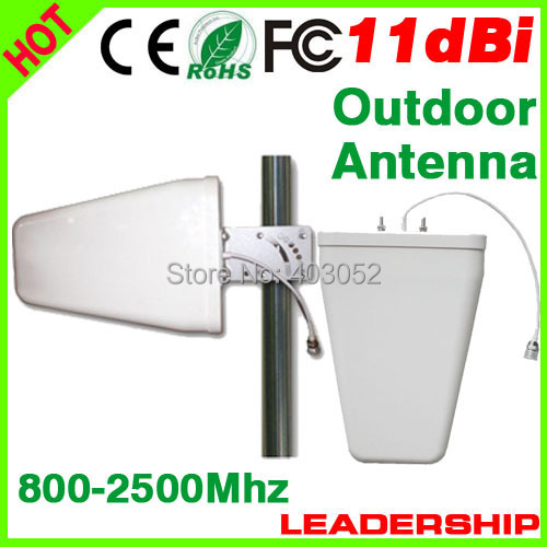 logperiodic antenna LPDA for mobile phone signal repeaters logperiodic yagi dual band 3G wifi cell phone booster(China (Mainland))