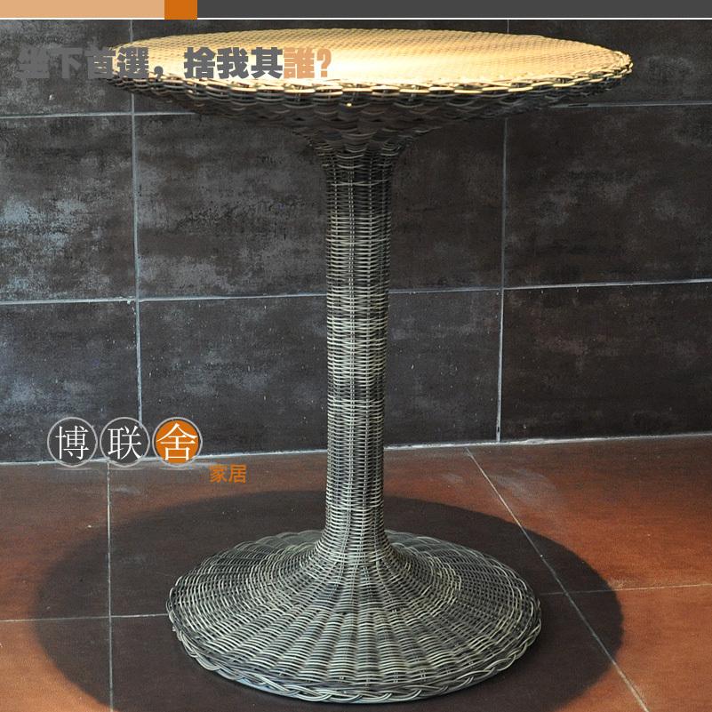 Compra mesas de mimbre lado online al por mayor de china - Mesas de mimbre ...