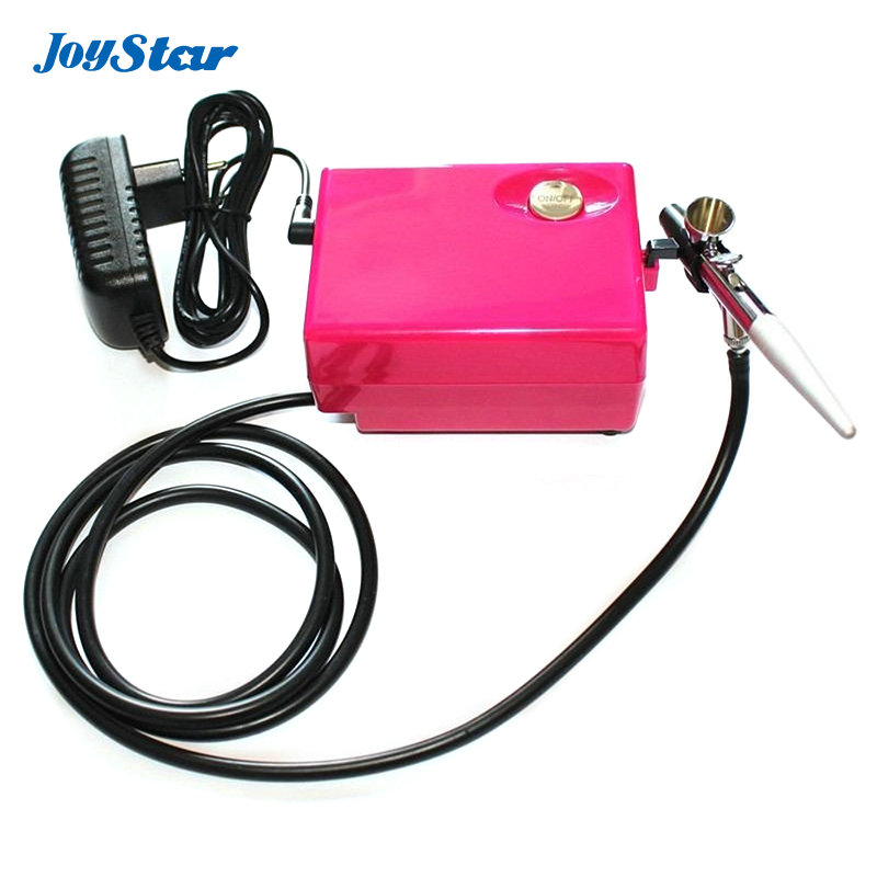 Mini Airbrush kit makeup system Airbrush compressor kit with 0.4mm single action airbrush 3 level working pressure adjustable(China (Mainland))