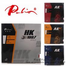 Original Palio 40+ table tennis rubber AK 47 ak47 HK1997 gold table tennis rackets racquet sports pingpong rubber(China (Mainland))