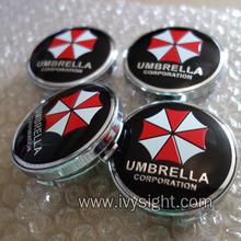 good quality 20pcs W190 60mm Emblem Wheel Hub Caps Center Cover logo UMBRELLA CORPORATION(China (Mainland))