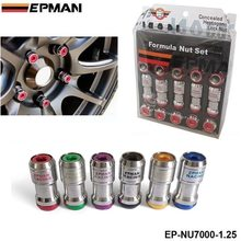 EPMAN -AUTHENTIC EPMAN ACORN RIM Racing Lug Wheel Nuts Screw 20 X 1.25 20PCS CAR For Toyota EP-NU7000-1.25(China (Mainland))