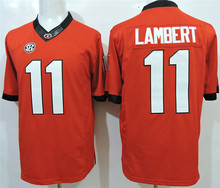Hot sale sale Georgia Bulldogs College Jerseys Black Red White 1 Sony Michel 11 Greyson Lambert 8 AJ Green 7 Matthew Stafford 1(China (Mainland))