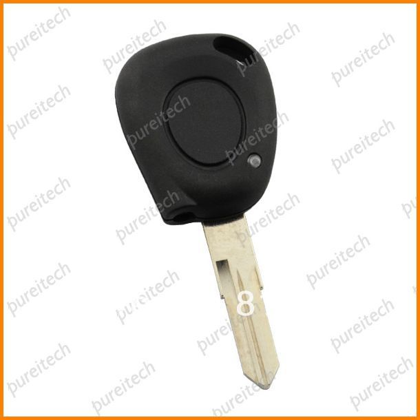 Renault remote shell key for car 1 button replacement blanks without logo with Valeo on the blade<br><br>Aliexpress