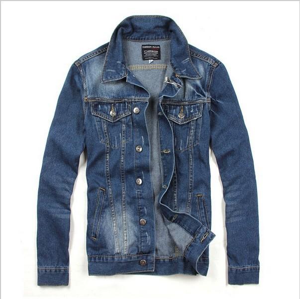 2014 new mens jacket classic jean jacket for men designer Designer clothing for men online sales
