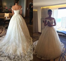 Vintage Ball Gown Wedding Dresses 2017 New Appliques Sweetheart Backless Button Court Train Bridal Gowns(China (Mainland))
