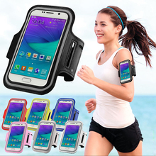 Sport Arm Band Belt Cover For SAMSUNG Galaxy A300X/SM-A310/A5 2015/A510/G3556/G7108/G850Y/E500H/I9063 Waterproof Running Gym Bag