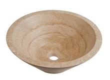 European style natural stone sink Marble Wash Artistic Wash Basin 42*51*15cm  LVB13(China (Mainland))