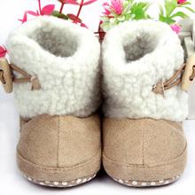 fashion unisex baumwolle stiefel säugling rutschfeste schnee stiefel babyschuhe(China (Mainland))