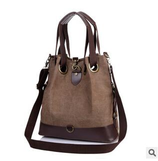 Famous Brand  Canvas Women Bag All-Match  Women Handbag  Vintage Messenger Shoulder Bags Casual Travel Sports Bag