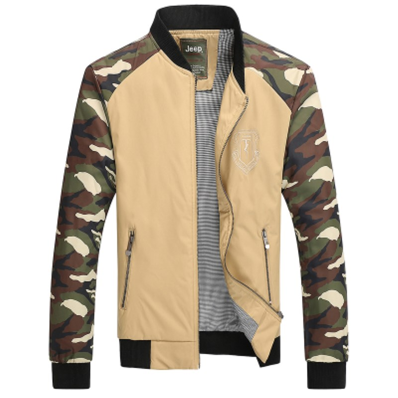 2016 early autumn new fashion trend of men's urban metrosexual man camouflage high quality and hot sale jacket coat hot selling(China (Mainland))