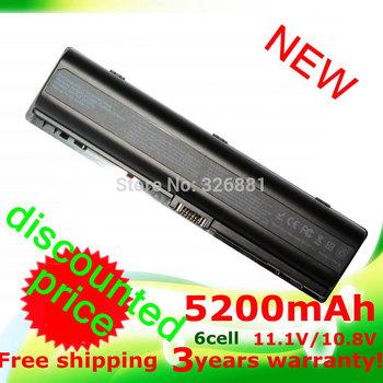 5200mAH laptop battery for HP Pavilion DV2000 DV2100  DV2200 DV2700  DV2800  DV2900 DV6000 DV6300 DV6700 HSTNN-DB42 HSTNN-LB42