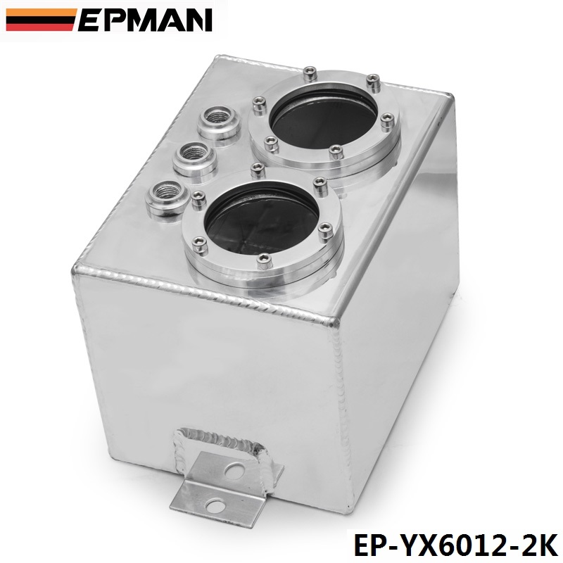 EPMAN Dual High-pressure Fuel Pump Conventionally Plumbed Series Surge Tanks W/O Fuel Pump EP-YX6012-2K