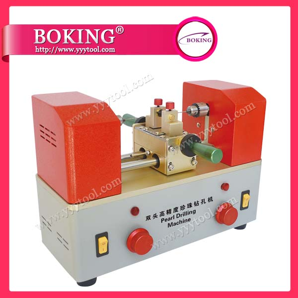 New Type Pearl Drilling Machine for 2 sides 220V jewelry tools and equipment double ended pearl holing machine <br>