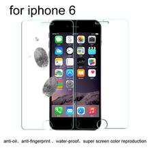 200pcs/lot 2.5D 0.3mm Premium Explosion-proof Tempered Glass Screen Protector Front + Back film for iPhone 6 6s With Retail Box