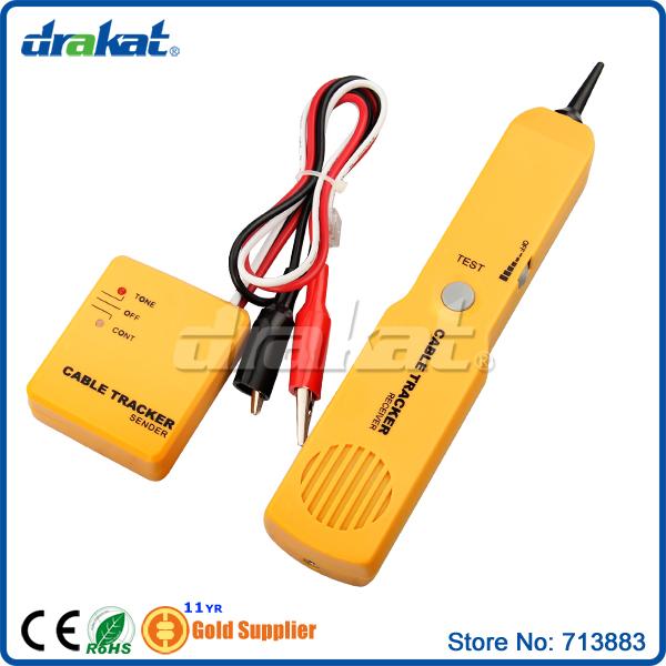100% New! RJ11 Telephone Cable Tracker(China (Mainland))