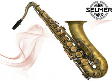 Reference French Selmer tenor sax BB 54 professional bronze musical instruments Sax - Saxophone shop Store store