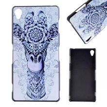 Buy Skull Embossed Hard Plastic Case Sony Xperia Z3 D6603 D6653,Dog Deer Phone Cases Sony Xperia Z3 Back Skin Free for $3.99 in AliExpress store
