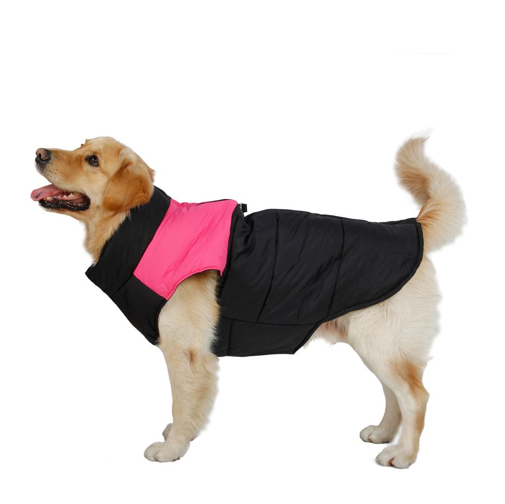 Freeshipping Pet Clothing Big Dog Vest Large Dog Clothes Winter Clothing Winter Vest Soft Warming 4 Colors