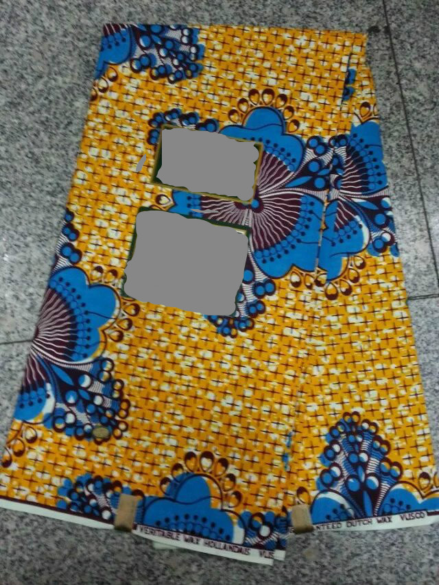 High quality dutch wax fabric for sewing african wax for Sewing fabric for sale