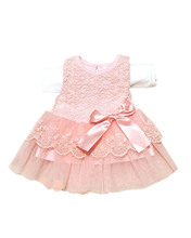 Baby Girl Clothes Child Summer Sleeveless Ball Gown Dress Kids Bow Lace Princess Tutu Dresses